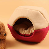 Cat Dog Bed Pet Mat House Foldable Soft Warm Animal Puppy Cave Winter Sleeping Pad