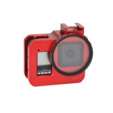 ملون سبورت الة تصوير الألومنيوم حالة الغطاء الواقي لل GoPro هيرو 8 التبعي قطع غيار