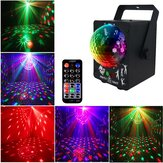 18W LED RGB Stage Proyector Light Lámpara DJ Club Disco Party con Control remoto