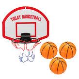 Zestaw do koszykówki Mini Hoop Board Siatka z pierścieniem Siatka Wiszący kosz Zabawki prysznicowe