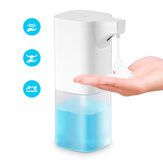 Xiaowei X6 350ml Automatic Soap Dispenser IR المستشعر Foam Liquid Dispenser ضد للماء Hand Washer Soap Dispenser Pump