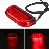 12V Motorcycle Rear LED Red Tail Lights Brake Turn Signal Indicator Universal For Honda/Yamaha/Kawasaki  Dirt Bike