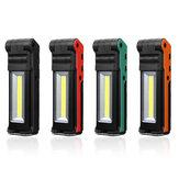 2LED + البوليفيين 400LM USB صيانة قابلة للطي سيارة ضوء العمل ضوء الصمام مصباح يدوي القوة البنك