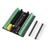 NRF2401+拡張インターフェースDC電源ボードGeekcreitとArduino用3pcs Nano V3.0ターミナルアダプターAVR ATMEGA328P-公式Arduinoボードで動作する製品