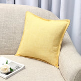 45x45 سنتيمتر الكتان رمي سادة القضية وسادة غطاء مقعد أريكة حالة الرئيسية نوم الديكور