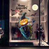 Miico XL626 Cartoon Sticker Halloween Sticker Pumpkin Wall Sticker Room Decoration