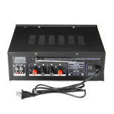 325BT 2000W 2 Channel EQ Bluetooth Home Stereo Power Car Amplifier Audio USB AMP