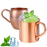 Pure Copper Cup kop til Moskva Mule kaffe Drikker Cocktail Camping 415ML