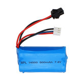WPL ترقية 7.4V 500mAh 2S Li-ipn البطارية for B36 B24 1/16 Full Proportional مراقبة RC Vehicles