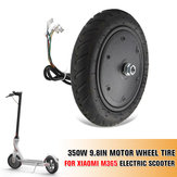 350W 9.8 Inch Motor Explosion Proof Wheels Tire for M365 Electric Scooter Ideal Replacement