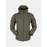 Mens Outdoor Windproof Coat Fleece Jacket