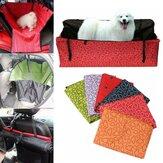 Собака Кот Чехол на Сиденье Безопасности Pet Водонепроницаемы Гамак Чехол На Сиденье Мат Подушка Для Авто