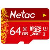 Cartão de memória Netac P500 UHS-1 80MB / s TF 32GB 64GB 128GB