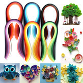 600 Strips 30 Colors Mixed Quilling Paper Art Origami Papercraft DIY Craft