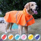 Pet Rain Coat Transparent Raincoat Outdoor Jacket Dog Puppy Clothes Waterproof