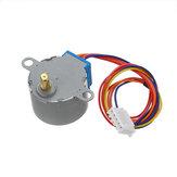10pcs 28BYJ-48 5V Motor de passo de engrenagem DC de 4 fases Geekcreit para Arduino - produtos que funcionam com placas Arduino oficiais