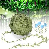 40-200m artificiel vert lierre vigne feuille guirlande rotin feuillage décorations de mariage à la maison