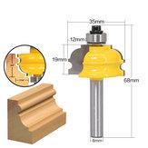 Drillpro 8mm Shank Rail and Stile Router Bit Frez do drewna