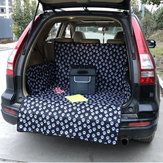 Extended Length Pet Dog SUV Travel Car Pet Mat Puppy Backseat Cover Protector
