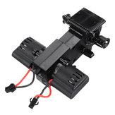 RBRC Power Gear Box with Two 280 Brushed Motors for RB1277A 1/12 RC Car Vehicels Spare Parts