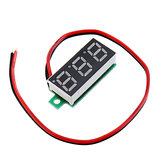 3pcs 0.28 Inch Two-wire 2.5-30V Digital Blue Display DC Voltmeter Adjustable Voltage Meter