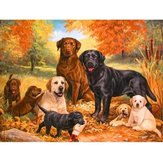 5D Diamant Peintures Chiens Broderie Point De Croix Photos Arts Craft Tool Kit Décor