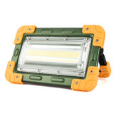 IPRee® 50W LED COB Work Light IP65 Waterproof USB Rechargeable Floodlight Spotlight Outdoor Camping Emergency Lantern