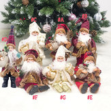 Xmas Santa Doll Christmas Figurine Ornament Gifts Decoration Toys