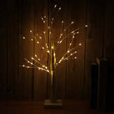 60CM Battery Supply 55LEDs Birch Twig Tree Night Light Holiday Home Party Wedding Decor Christmas Gift