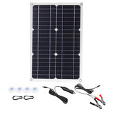 50W 18V Mono Solar Panel Dual USB 12V/5V DC Monocrystalline Flexible Solar Charger For Car RV Boat Battery Charger Waterproof