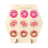 Doughnut Wall Stand Wedding Dessert Rack Party Donut Holder Favour Display Treat Decorations