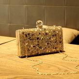 Mode féminine sac à bandoulière sac à bandoulière paillettes sac à paillettes