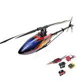 ALINHAR DONINATOR T-REX 470LP 6CH 3D Flying RC Helicopter Super Combo Com Motor ESC Gyro GDW Servos