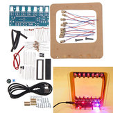 DC4.5-5.5V DIY Laser Harp Kit String DIY Keyboard Kit Electronic Parts 7 Strings Electronic DIY Kit Technology Piano Music Box