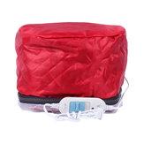 110V Cabelo Steamer Cap Dryers Electric Aquecedor Cap Tratamento térmico Chapéu Beauty SPA