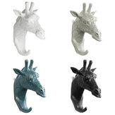 Sıcak Hayvan Geyik Boynuzları Dekoratif Duvar Çengel Raf Kat Şapka Anahtar Asılı Raf