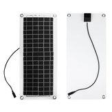 20W PET Solarpanel 5V / 12V mit USB-Anschluss