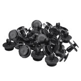 30pcs Bumper Fender Retainer Rivet Clips For Suzuki Grand Vitara SX4 Swift X-90 XL-7