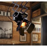 Retro Track Light Industrial LED Luz de teto E27 Lâmpada para interior LED Lâmpada Coffee Shop Clothing Store Bar Art Exhibition Studio