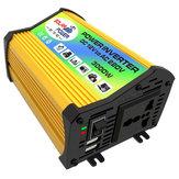 3000W سيارة الشمسية القوة العاكس تيار منتظم 12V إلى AC 110V تعديل شرط موجة الجهد محول