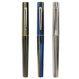 ムーンマンN3アクリルストライプ万年筆EF / F 0.38 mm 0.5 mmペン先オフィスペン署名ギフトセット