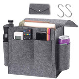 Bedside Caddy Organizer Felt Bed Beside Storage Organizer Sofa Desk Hanging Bag