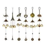 Campane a vento campane pesci fortunati elefante giardino finestre esterne appese decorazioni ornamento