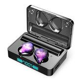Écouteurs sans fil portables TWS bluetooth 5.0 écouteurs Colorful HiFi 9D stéréo 3600mAh casque à commande tactile avec micro