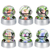 50mm 3D-lampe Crystal Ball LED Night Light til Pokemon Pikachu 6 mønster