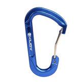 XINDA Aluminum Carabiner Keychain Outdoor Snap Clip Lock Hanging Bucle