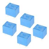 5Pcs QIANJI JQC-3F (T73) -5VDC 12VDC T73 5V 12V 10A Módulo de relé 5Pin