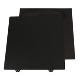300x300mm Magnetic Sticker B Surface with Black Double Texture PEI Powder Steel Plate for CR-10/10S 3D Printer