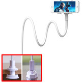 Universal Lazy Phone Clip Stand Holder Arm Flexible Mobile Phone Stents Bed Desktop Table Clip Bracket for Phones