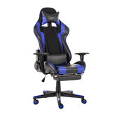 Ergonomic High Back Office Chair Racing Style Reclining Chair Adjustable Rotating Lift Chair PU Leather Gaming Chair Laptop Desk Chair with Footrest